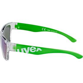 UVEX Sportstyle 508 Lunettes de sport Enfant, clear green/green